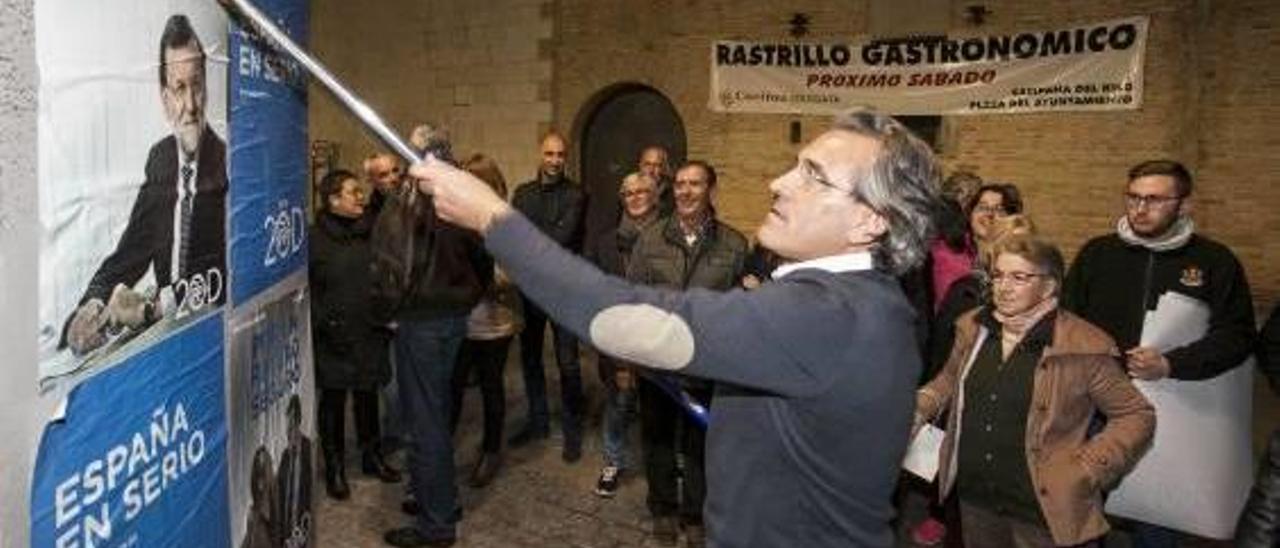 La líder del PP valenciano reprende a Arturo Torró y adelanta su final político