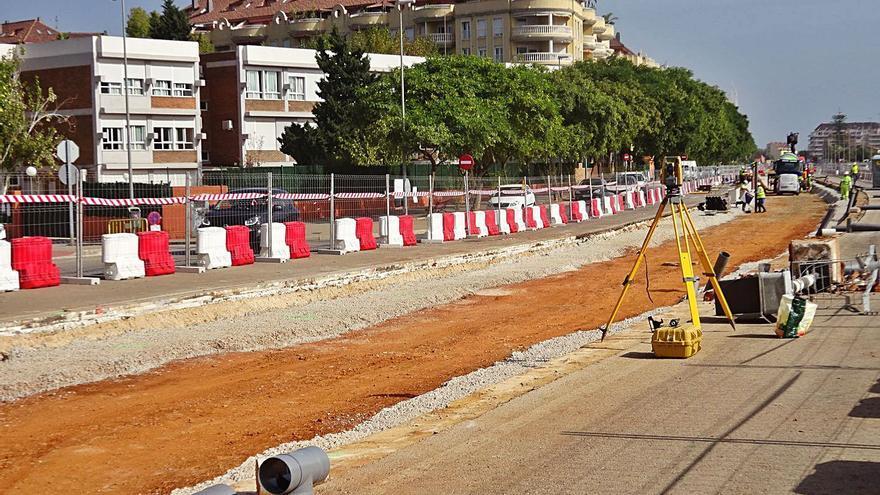 FGV asegura que la nueva vía de la L9 del Tram estará concluida en verano 2021