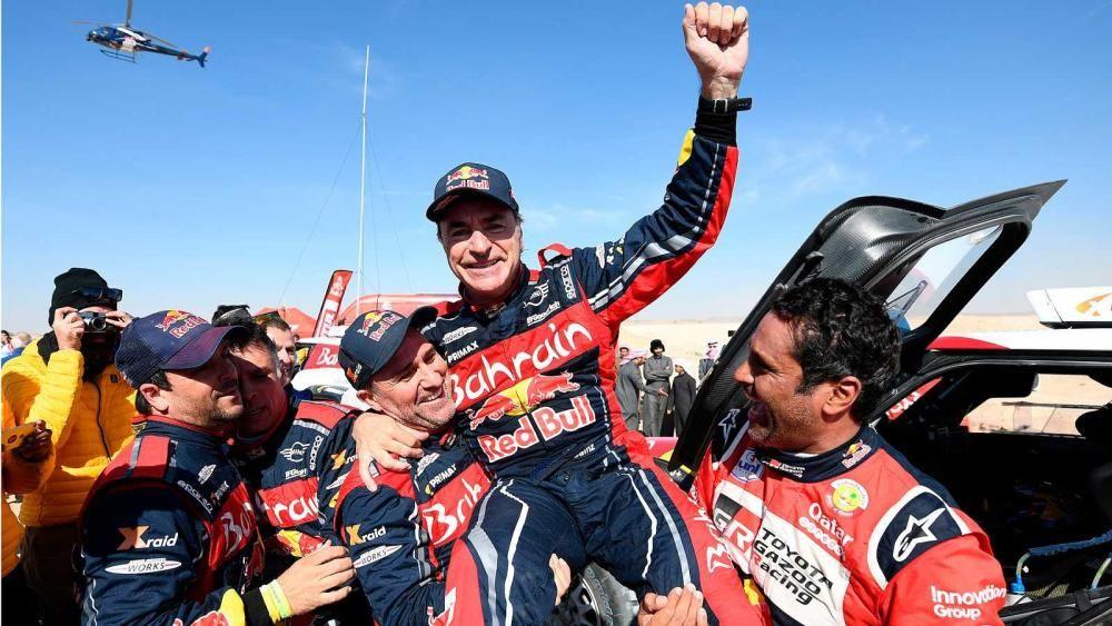 Sainz, tricampeón del Dakar | Enero