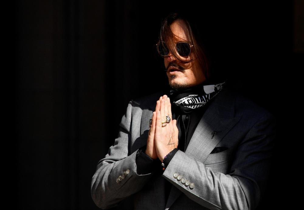 Johnny Depp va ser víctima d'acusacions falses de la seva ex Amber Heard, afirma el tribunal