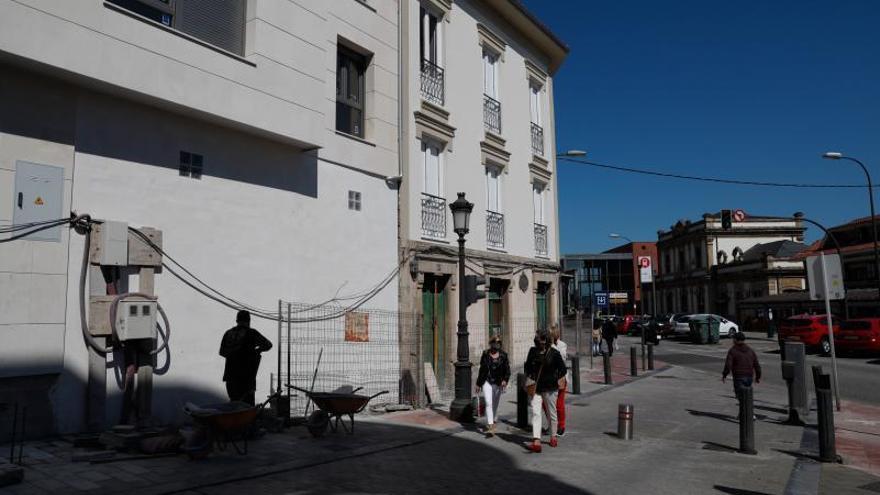 La venta de vivienda nueva en Avilés sólo se agota en el centro, admiten los constructores