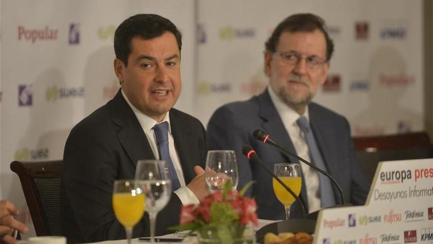 Rajoy, Santamaría, cuatro ministros y Feijóo arroparán a Moreno en su reelección como presidente del PP-A