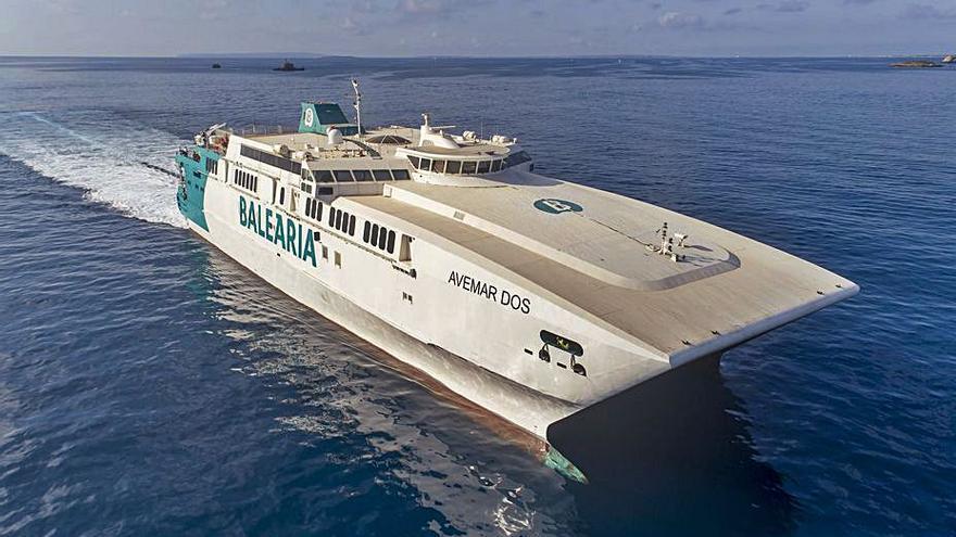 El incremento de los precios obliga a Baleària a reducir el consumo de gas