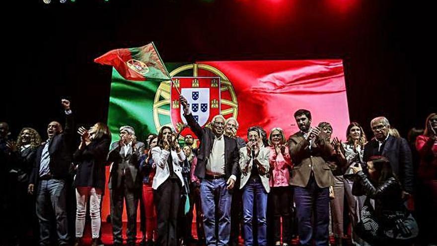 El socialista Costa somete hoy a las urnas portuguesas su brillante balance económico