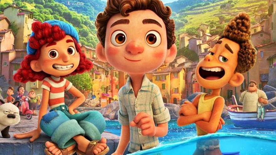 «Luca», la fábula iniciática de Pixar que  celebra la diferencia