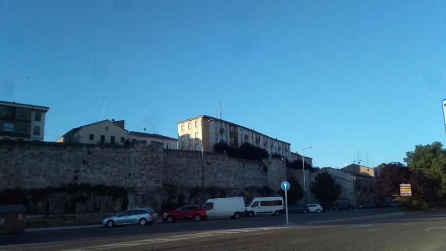 La avenida de la Feria, esta mañana de jueves.