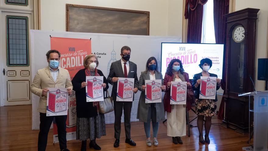 El concurso de tapas Picadillo vuelve a A Coruña en noviembre