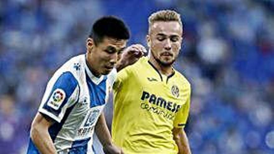 El Villarreal amarga el estreno de Machín con el Espanyol