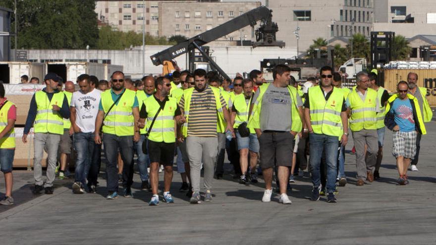 La huelga de estibadores vuelve a paralizar los puertos