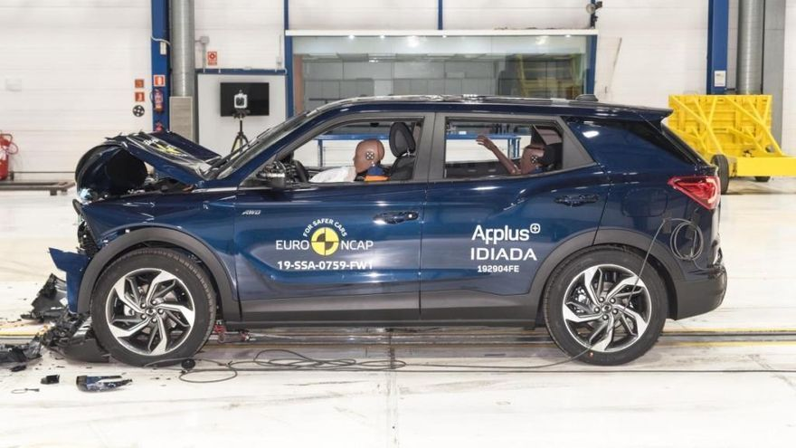 El nuevo SsangYong Korando 2019 obtiene 5 estrellas en las pruebas Euro NCAP