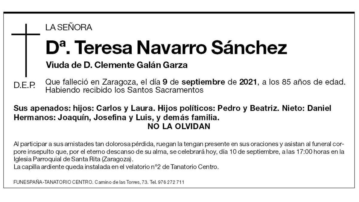 Teresa Navarro Sánchez