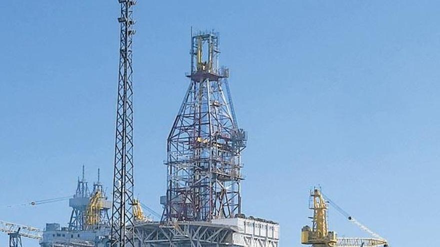 Diamond Offshore vende la plataforma que lleva más tiempo atracada en La Luz