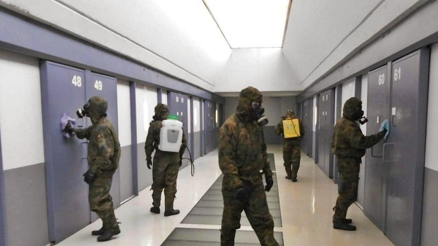 La prisión de Campos del Río, aislada por un brote de decenas de reos con covid