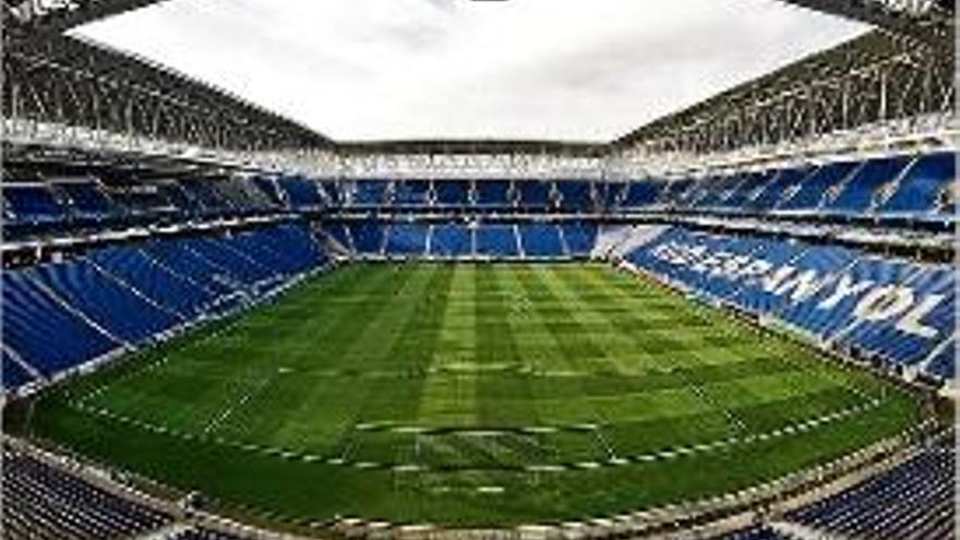 L'Espanyol no podrà augmentar l'aforament fins al 60% a l'estadi de Cornellà-El Prat