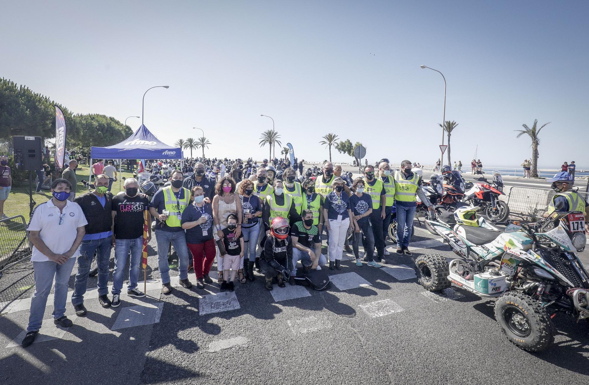Más de 4.000 moteros rinden homenaje a Luis Salom