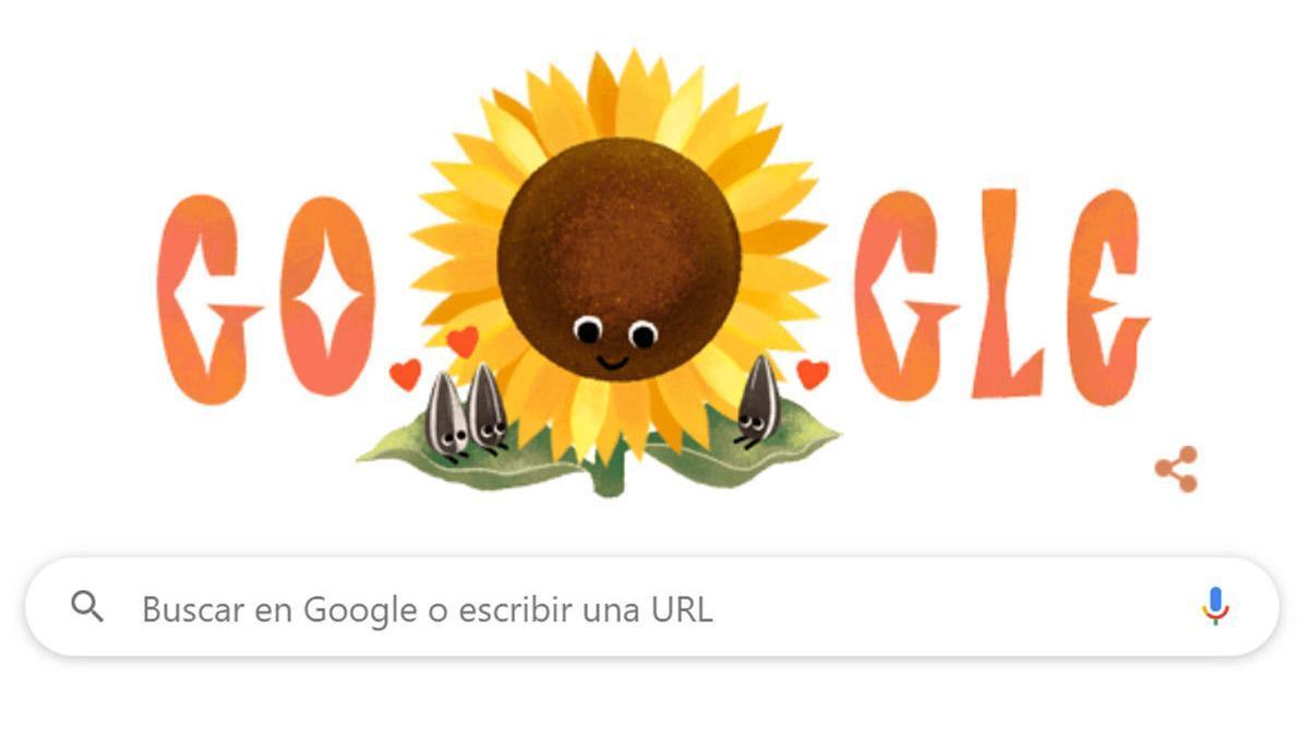 El 'doodle' de Google del Día de la Madre.