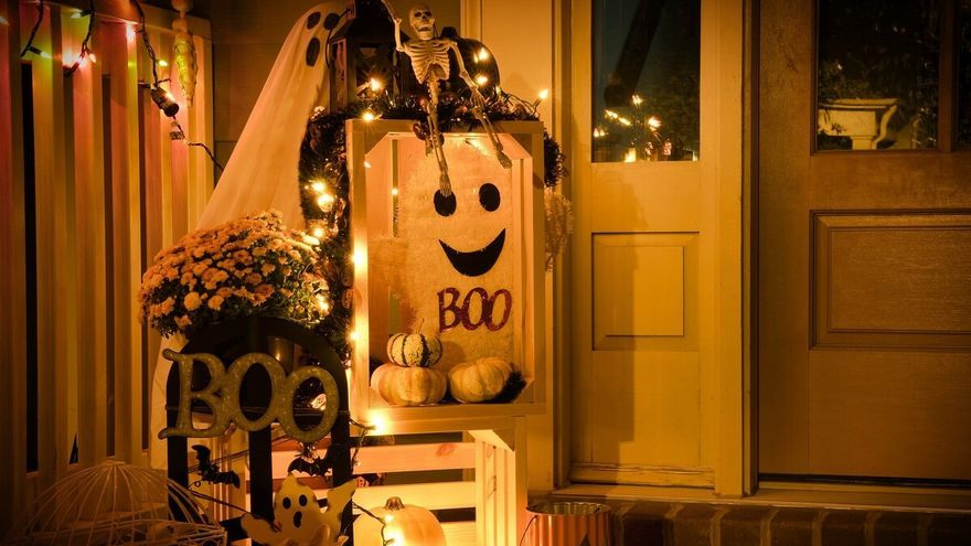 Cinco ideas espeluznantes para decorar tu casa este Halloween