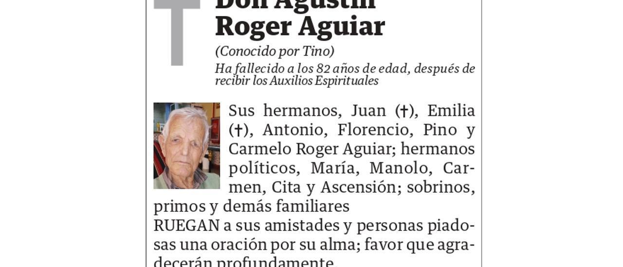 Agustín Roger Aguiar
