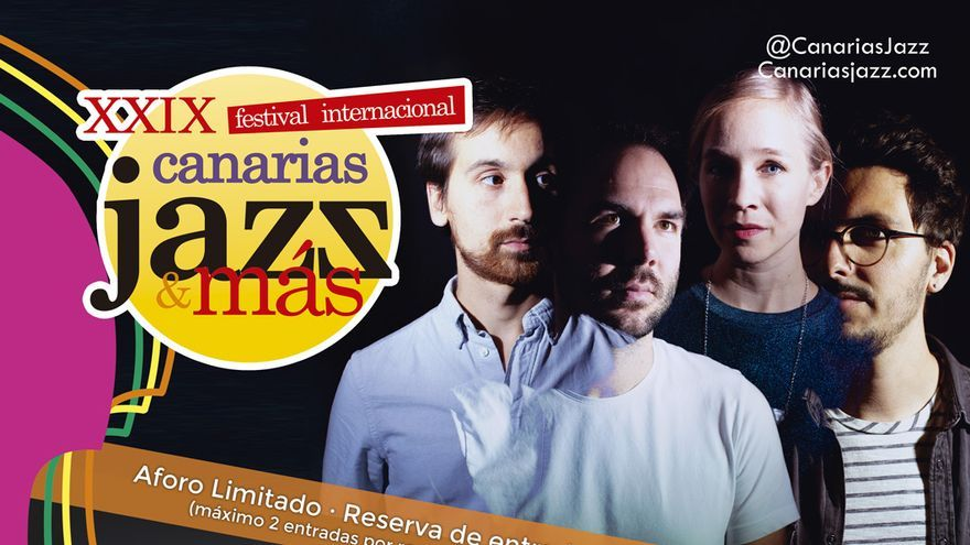 XXIX edición del Festival Canarias Jazz & Más: Julien Tassin Trio, Next.Ape