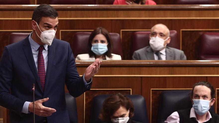 """Sánchez: """"España tiene por fin los presupuestos que necesita"""""""
