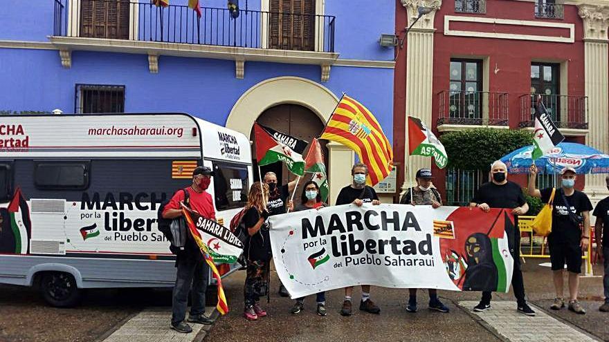 Marcha por la libertad del pueblo saharaui en Torres