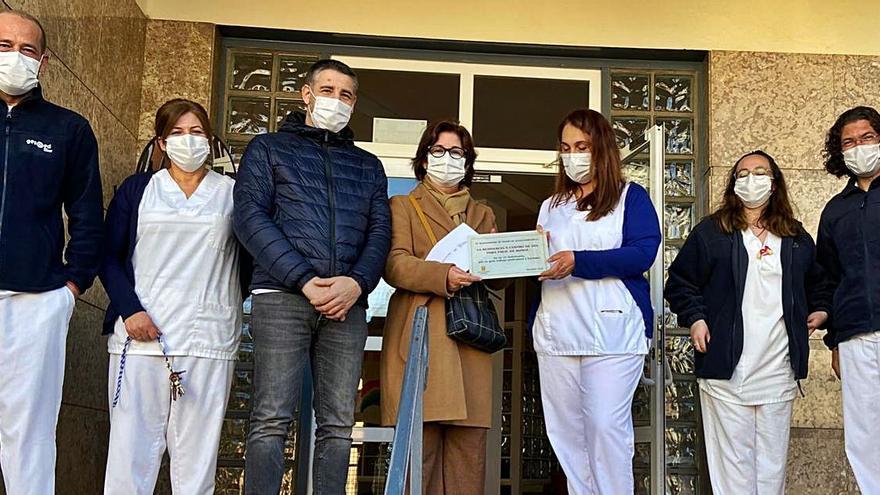 Buñol agradece a la residencia su esfuerzo en la pandemia