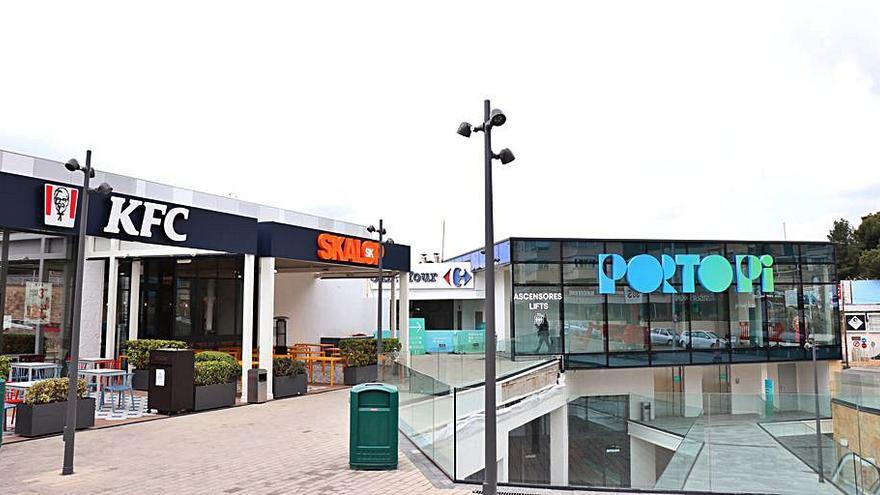 El centro comercial Porto Pi estrena identidad corporativa