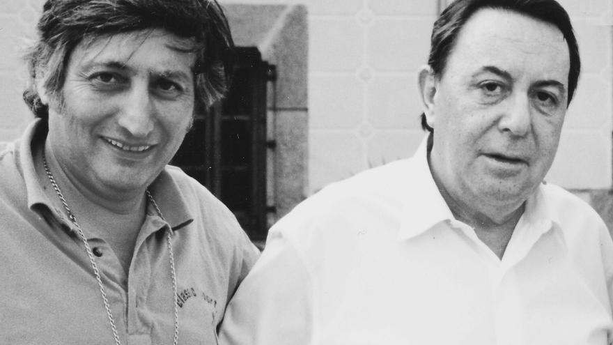 Claudio Rodríguez y José Ignacio Primo