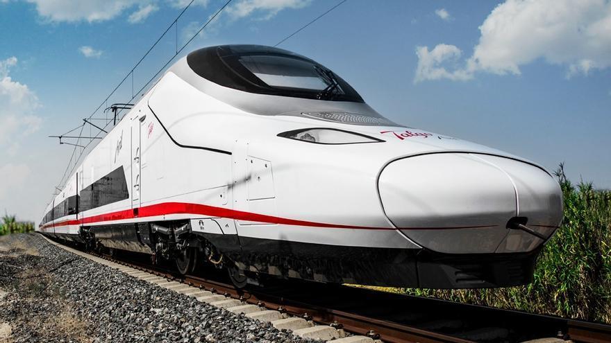 El Talgo Avril, aún en pruebas, supera los 363 km/h entre Valladolid y Burgos