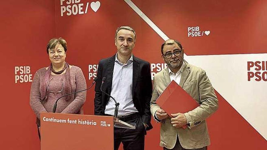 """El PSIB insta a Més a sumarse a la """"política útil"""" respecto a la insularidad"""