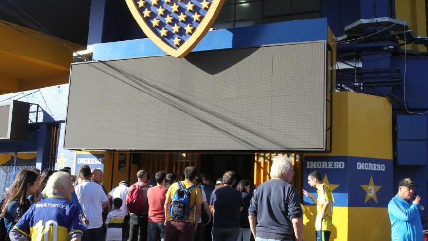 Evacúan el estadio del Boca por una amenaza de bomba