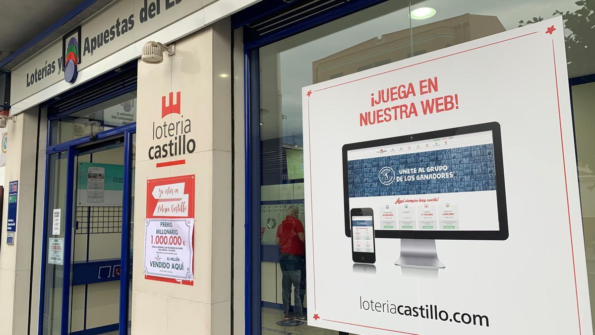 Administración de lotería Castillo.