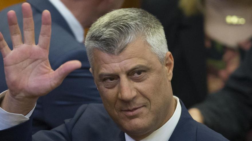 El presidente de Kosovo, acusado de crímenes de guerra y de lesa humanidad