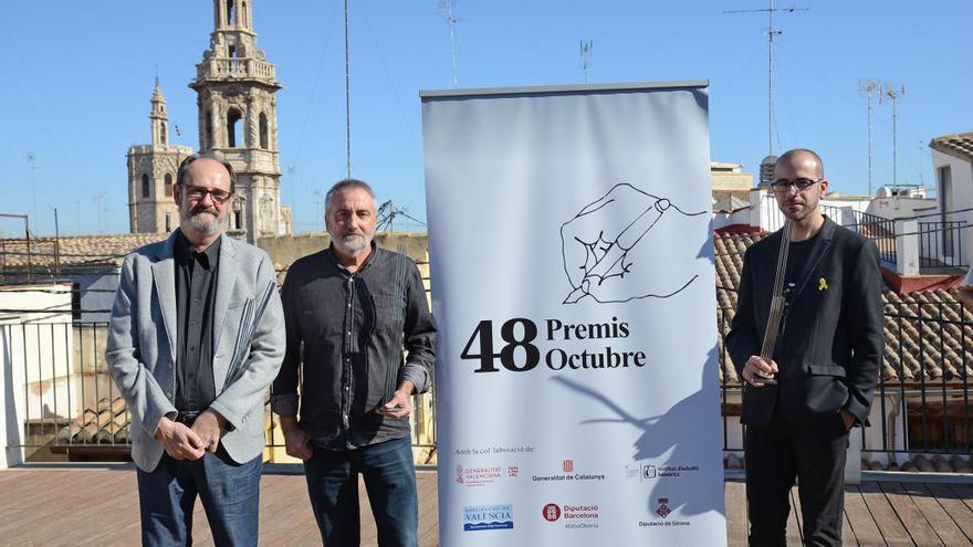 Josep Igual, Joan Duran, Josep Colomer y Carles Batlle, Premis Octubre 2019