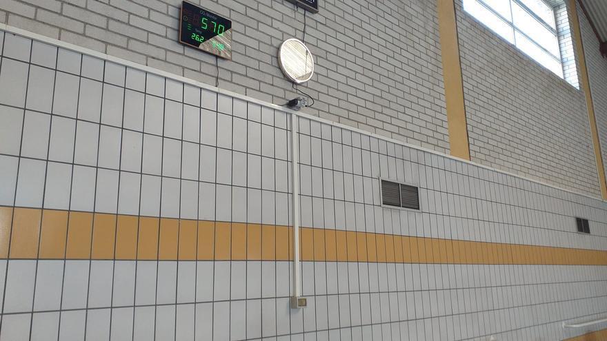 Medidores de CO2 para las instalaciones deportivas de Vila-real