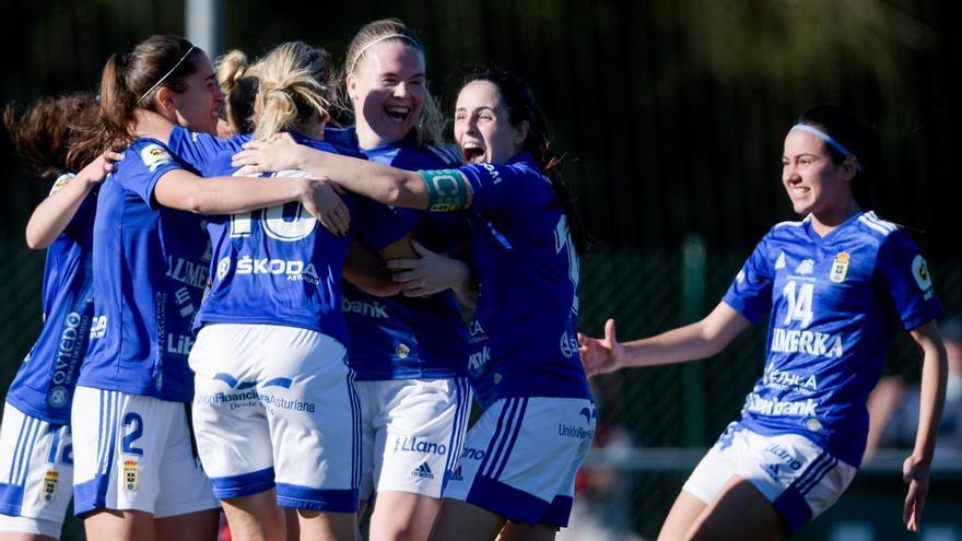 El Oviedo Femenino vence al filial del Atlético de Madrid (1-0)