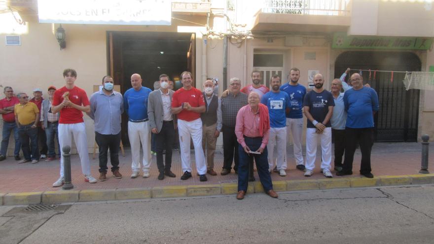 Burjassot celebra el Dia de la Pilota Valenciana y rinde homenaje al Genovés