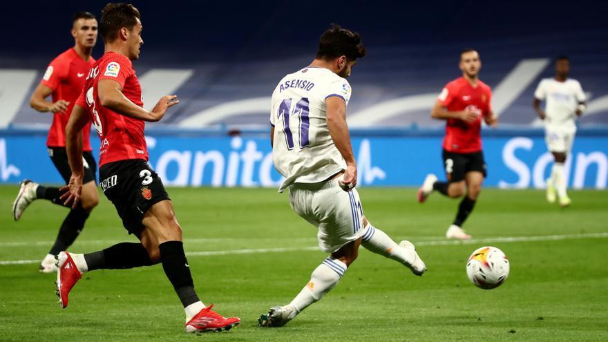 Real Madrid - Mallorca, en imágenes