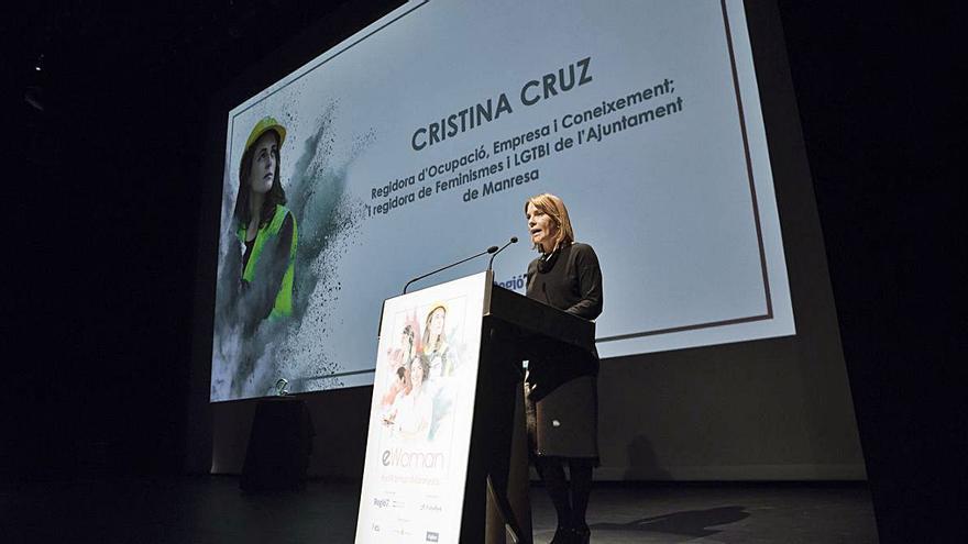eWoman 2021: Cristina Cruz, Regidora d'Ocupació, Empresa i Coneixement; i regidora de Feminismes i LGTBI de l'Ajuntament de Manresa