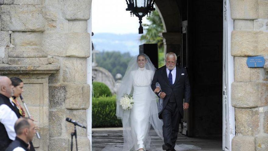 Marco Juncadella y Lucía Bárcena, boda de ensueño en Galicia