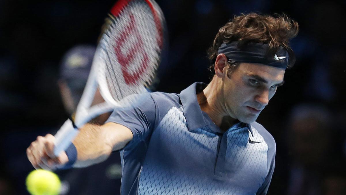 El tenista Roger Federer.