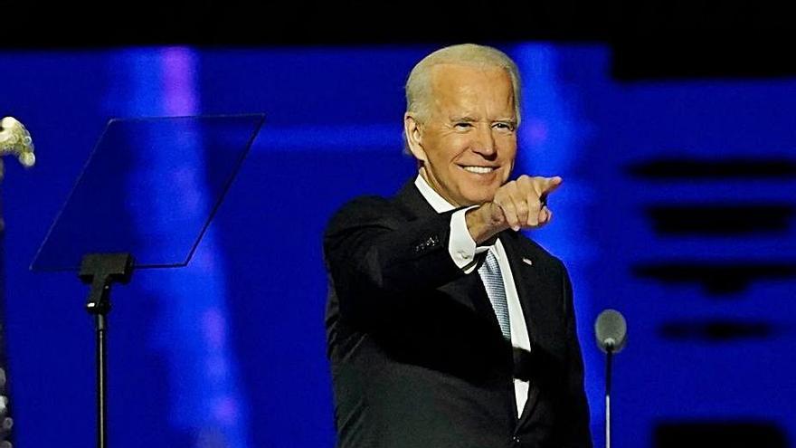 Las prioridades del negociador Joe Biden para volver a cohesionar a los estadounidenses