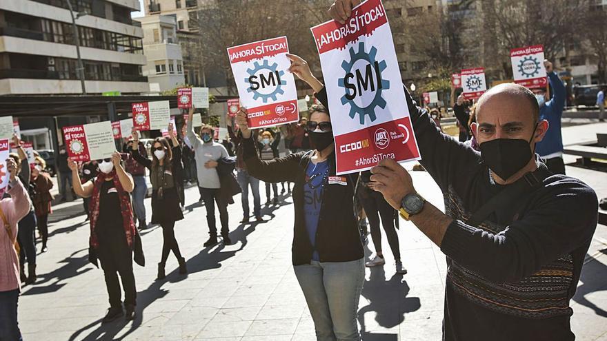 Los sindicatos reclaman la derogación de las reformas laboral y de pensiones