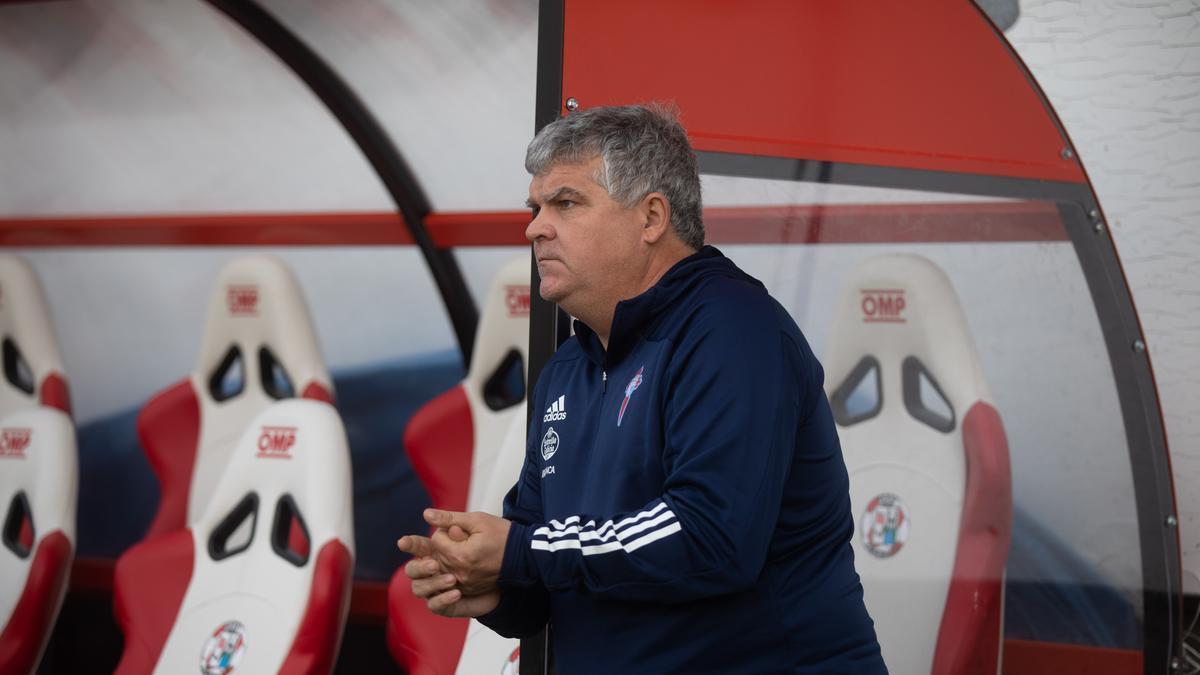 Onésimo Sänchez, técnico del Celta B
