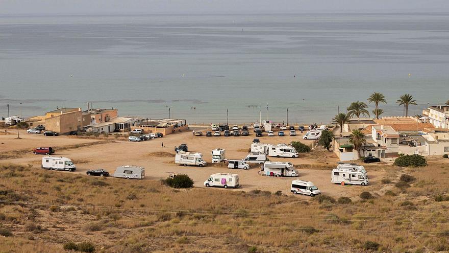 Proyectan un camping de caravanas y pistas de pádel en La Azohía