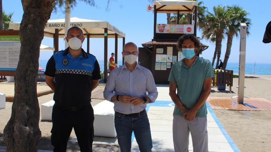 Mijas calculará el aforo de sus playas con tres drones