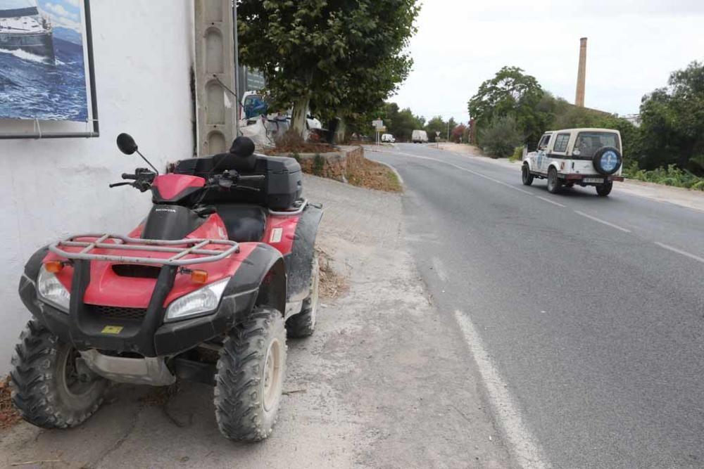 Ángel Nieto, herido grave en un accidente en Ibiza