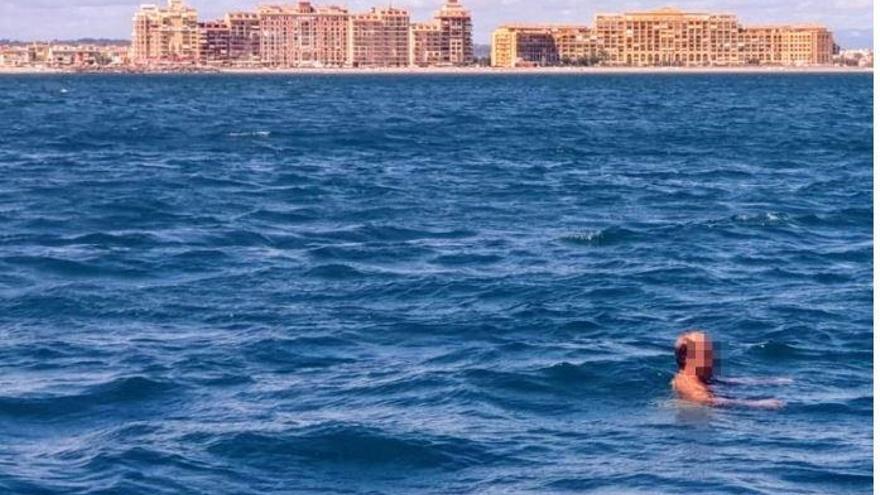 El detenido tras ir desnudo en Port Saplaya llevaba días desaparecido de Menorca
