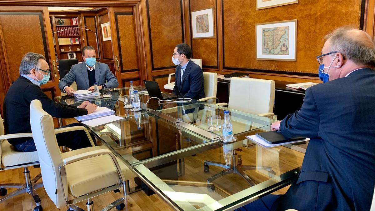 Una reunión del Consejo de Cuentas
