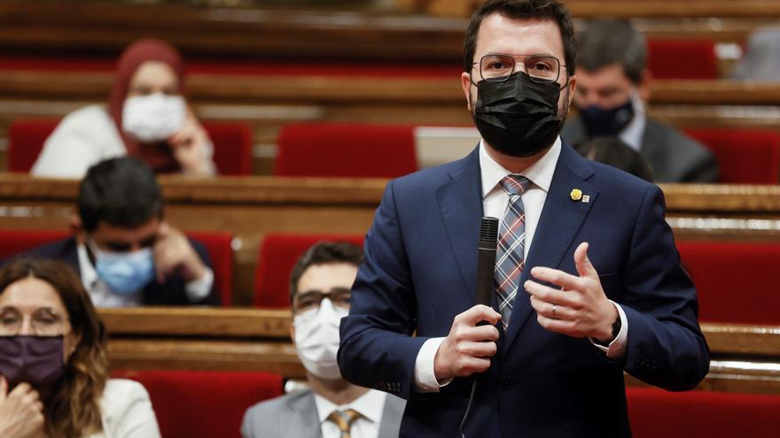 Aragonès acusa al Tribunal de Cuentas de arrogarse el rol del Constitucional